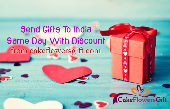 Send Gifts to India Same Day with Discount from cakeflowersgift.com