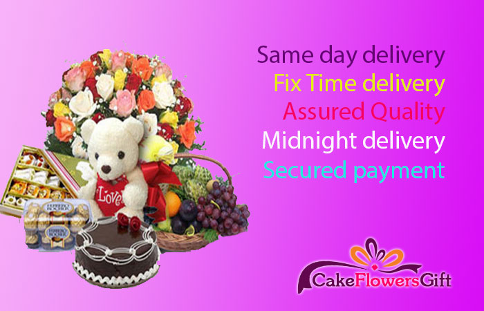 Why To Send Cake Flowers Gifts Online