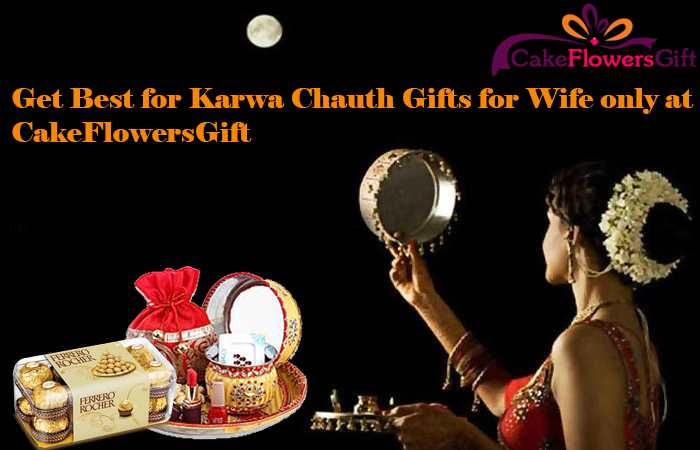 Get Best for Karwa Chauth Gifts for Wife only at CakeFlowersGift