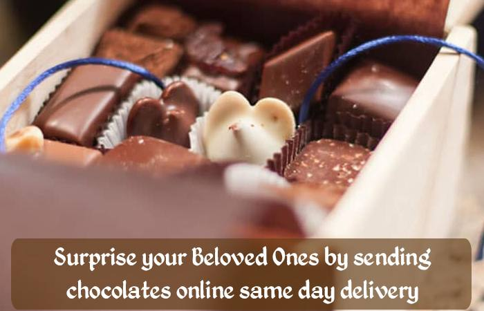 Surprise your Beloved Ones by sending chocolates online same day delivery