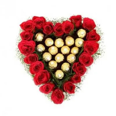 Ferrero Rocher In Heart  sc 1 st  CakeFlowersGift.com & Send I am Sorry Gifts to India I am Sorry Flowers Delivery in India