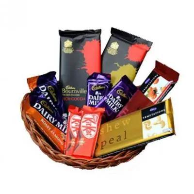 Basket Of Indian Chocolates
