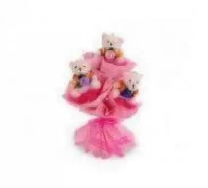 3 Teddy Bouquet