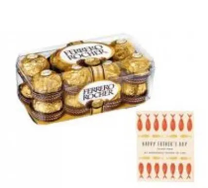 16 PCs Ferrero Rocher With Fathers Day Card